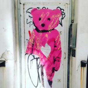 Street art from Meard Street Soho