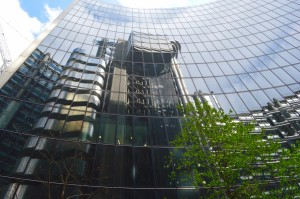 Lloyd's reflected in Foster's Willis Building