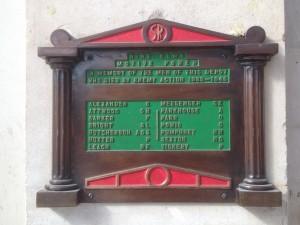 Waterloo station WW2 memorial